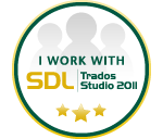 Trados 2007/2011 Supported